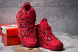 Кроссовки мужские Nike More Uptempo, красные (14823) размеры в наличии ► [  43 46  ], фото 3
