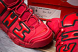Кроссовки мужские Nike More Uptempo, красные (14823) размеры в наличии ► [  43 46  ], фото 6