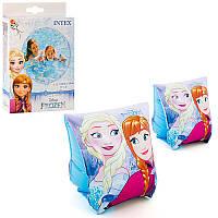 Детские надувные нарукавники для плавания  Intex 56640 Холодное сердце