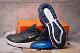 Кроссовки мужские Nike Air 270, темно-синие (15305) размеры в наличии ► [  41 42 43 44 45 46  ], фото 4