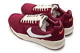 Кроссовки мужские Nike Apparel, бордовые (13155) размеры в наличии ► [  42 43 44  ], фото 8