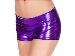Шорты Wetlook  для фитнеса  женские, один размер SL  Фиолетовый