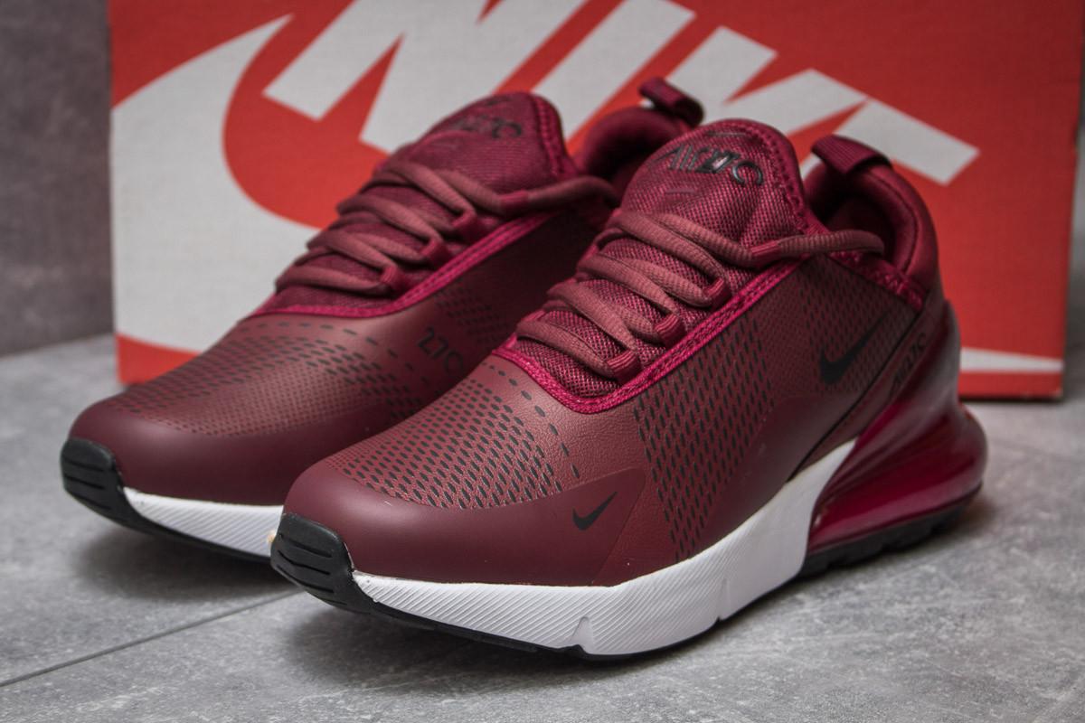 Кроссовки женские Nike Air 270, бордовые (14453) размеры в наличии ► [  37 38 40  ]