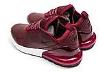 Кроссовки женские Nike Air 270, бордовые (14453) размеры в наличии ► [  37 38 40  ], фото 8