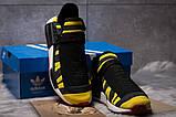 Кроссовки мужские Adidas Pharrell Williams, черные (14923) размеры в наличии ► [  41 42 43 44 45  ], фото 3