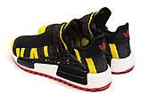 Кроссовки мужские Adidas Pharrell Williams, черные (14923) размеры в наличии ► [  41 42 43 44 45  ], фото 8