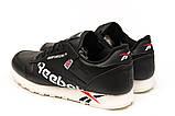 Кроссовки мужские Reebok Classic, черные (15182) размеры в наличии ► [  42 43 44 45 46  ], фото 8