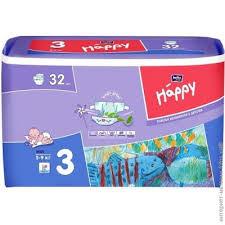 """Подгузники """"Bella"""" Happy 3 Midi (5-9кг) №32"""