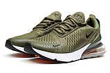 Кроссовки мужские Nike Air 270, хаки (14534) размеры в наличии ► [  41 42  ], фото 7