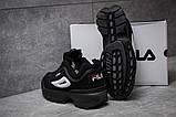 Кроссовки мужские  Fila Disruptor 2, черные (14571) размеры в наличии ► [  40 42  ], фото 4