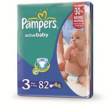 "Подгузник ""Pampers"" Active Baby p.3 (4-9 кг) №82"