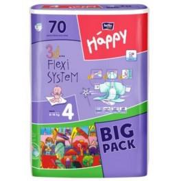 """Подгузники """"Bella"""" Happy 4 Maxi (8-18кг) №70 Green tea"""