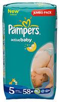"Подгузник ""Pampers"" Active Baby p.5 (11-25 кг) №58"
