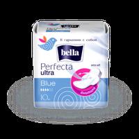 """Прокладки гигиенические """"BELLA"""" Perfecta Ultra Blue №10"""
