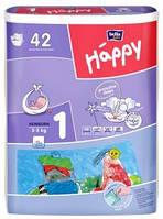 "Подгузники ""Bella"" Happy 1 NewBorn (2-5кг) №42 Green tea"