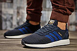 Кроссовки мужские Adidas Iniki, темно-синие (15332) размеры в наличии ► [  43 44 45 46  ], фото 2