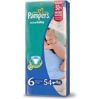 "Подгузник ""Pampers"" Active Baby p.6 (16+ кг) №54"