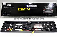Камера заднего вида в рамке номера для авто JX-9488