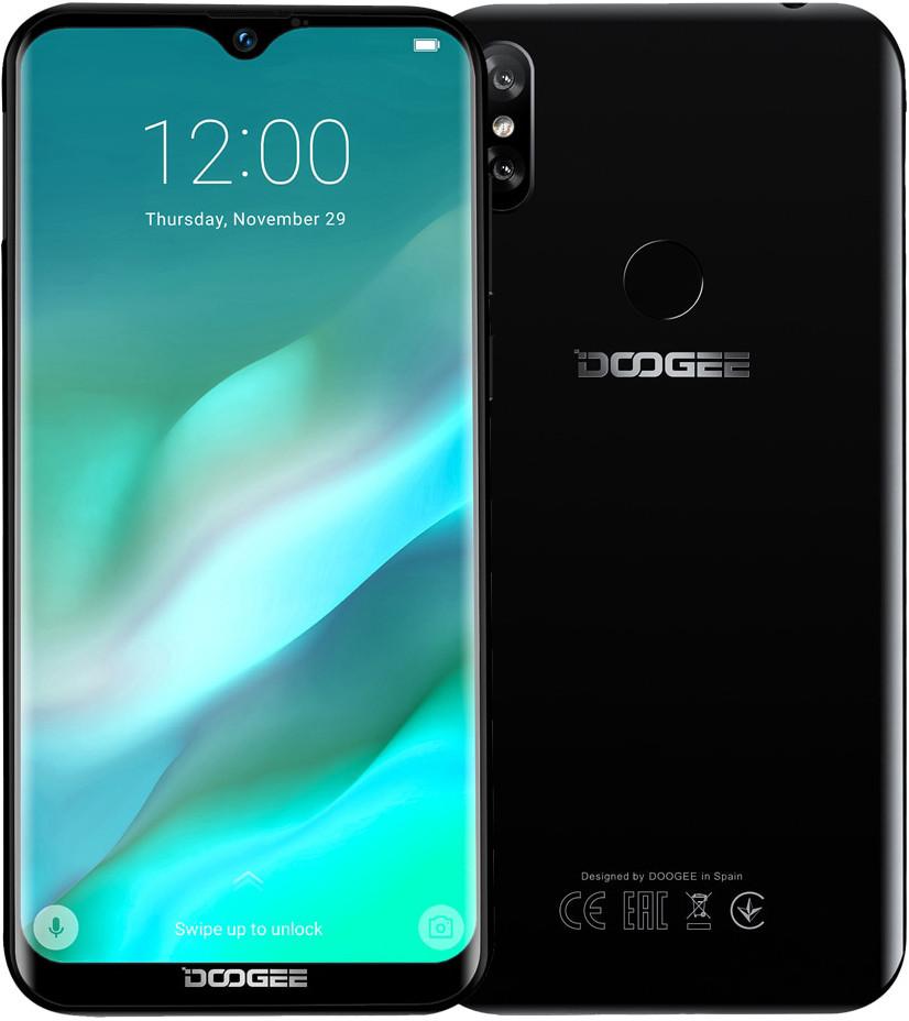 Doogee Y8 | Черный | 3/16Гб | 4G/LTE | Гарантия