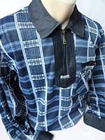 Тёплые мужские рубашки на замке, фото 1