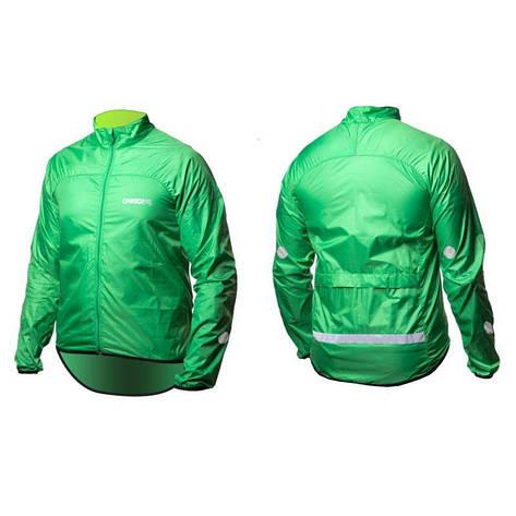 Вітровка ONRIDE Gust reflective зелений XXL, фото 2