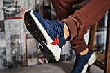 Кроссовки мужские Adidas AlphaBounce Instinct, темно-синие (15411) размеры в наличии ► [  42 43 44 45  ], фото 5
