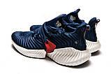 Кроссовки мужские Adidas AlphaBounce Instinct, темно-синие (15411) размеры в наличии ► [  42 43 44 45  ], фото 8
