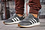Кроссовки мужские  Adidas Iniki, темно-серые (15422),  [  43 44  ], фото 2