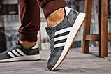 Кроссовки мужские  Adidas Iniki, темно-серые (15422),  [  43 44  ], фото 4