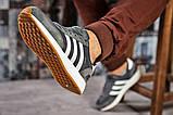 Кроссовки мужские  Adidas Iniki, темно-серые (15422),  [  43 44  ], фото 5