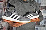 Кроссовки мужские  Adidas Iniki, темно-серые (15422),  [  43 44  ], фото 6