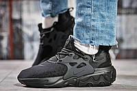 Кроссовки женские Nike React, черные (15444) размеры в наличии ► [  37 38 39 40 41  ], фото 1