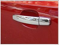 Хромированные накладки на дверные ручки Шевроле Круз 2012 -