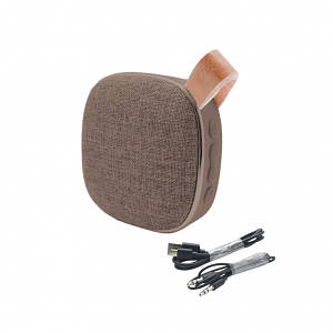 Колонка HOCO BS9 Light textile Brown