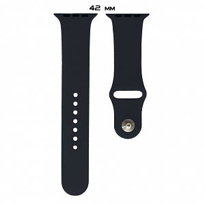 Ремешок Apple Watch Silicone 42/44mm M (18) Black