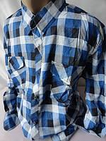 Тёплые мужские рубашки на пуговицах