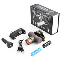 Налобный аккумуляторный фонарик Bailong Police BL-6866