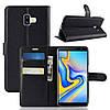 Чехол-книжка Litchie Wallet для Samsung j610 Черный