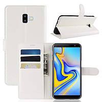Чехол-книжка Litchie Wallet для Samsung j610 Белый