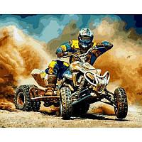 Картина по номерам Квадроцикл, 40x50 см., Babylon