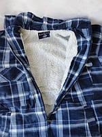 Теплые  рубашки с меховой подкладкой