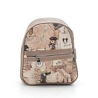 Рюкзак 025-2 карта коричневый