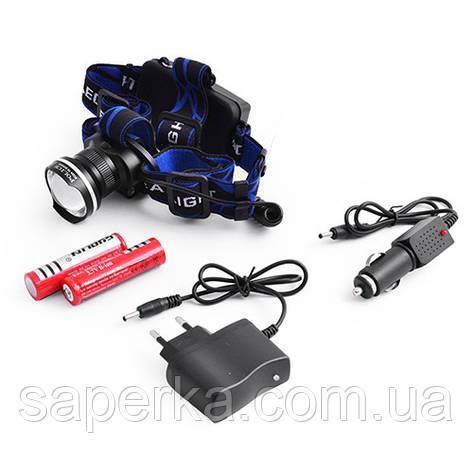 Налобный фонарь Police  XQ-24-T6 10000W, фото 2
