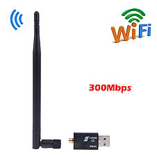 Адаптер WiFi+антенна WIFI АНТЕННА 300MBPS, фото 2
