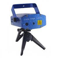Диско-лазер Лазерный проектор Laser YH01 с 1 рисунком