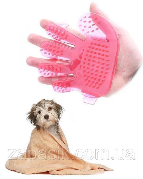 Силиконовая Щётка Pet Wash Brush Для Мытья Животных