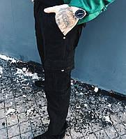 Джинсы карго карманы мужские ( 9079-1 черные Iteno ), фото 1
