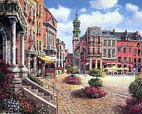 Картина по номерам Babylon Городская площадь VP243 40 х 50 см, фото 1