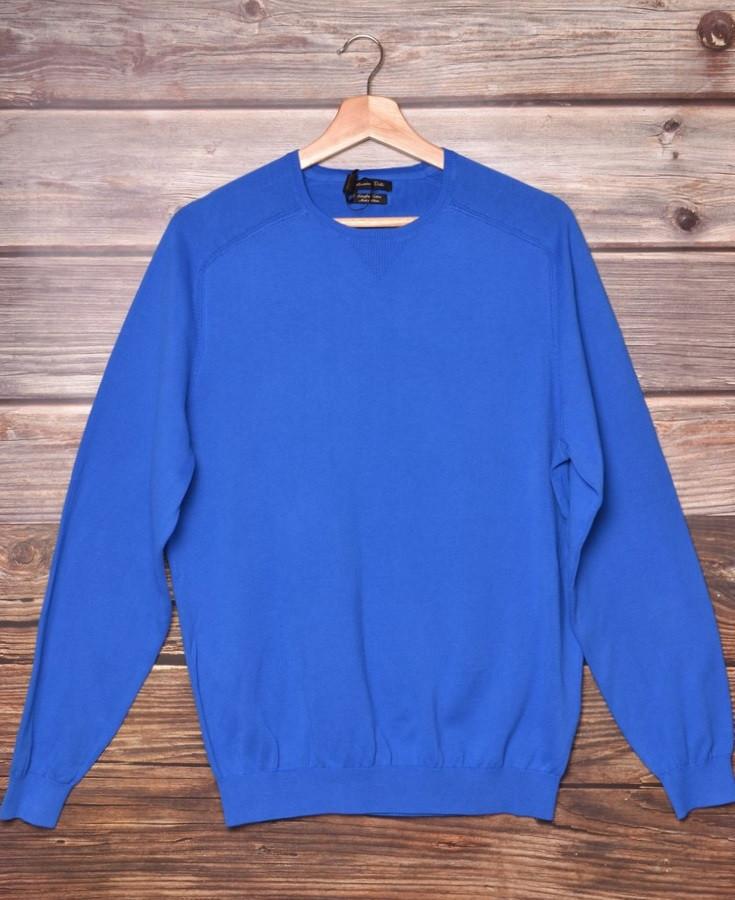Кофта мужская Massimo Dutti 0918/211 blue размер XL
