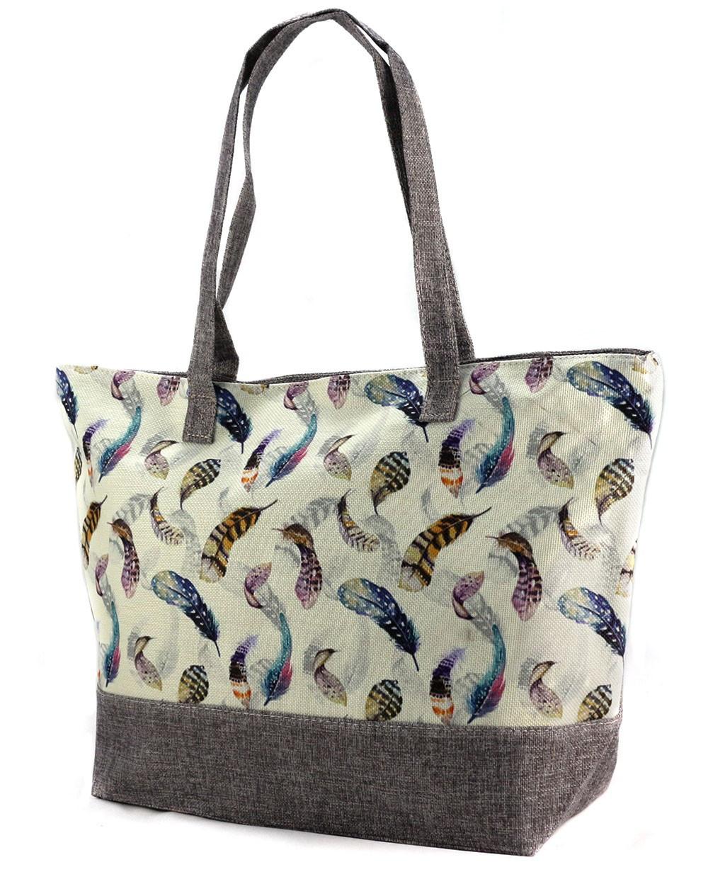 003386a806b7 Летняя тканевая сумка с принтом 99-6-2 - Arion-store - кожгалантерея